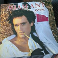 New listing RARE VINYL LP ADAM ANT STRIP INCLUDING RARE POSTER HALF STICKER MINT VINYL EXC C