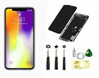 Black Iphone X (10) 5.8 Inch LCD Screen Replacement Full Digitizer Assembly tool
