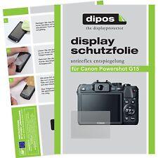 6x Dipos Canon powershot g15 protection d'écran mat antiréflectives vainqueur