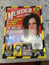Murder Most Foul Issue # 112 From 2019 UK True Crime Magazine