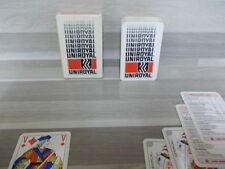 Oude boek speelkaarten - Uniroyal banden - compleet !