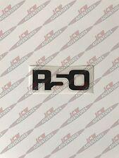 BMW Mini 1st Gen R50 modèle désignation Vinyle Noir Autocollant par JCW aventures