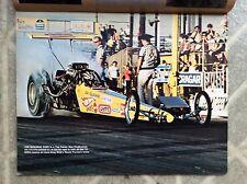 72 Hot Rod Drag Racing Pictorial Magazine No. 6 Funny Car Snake Rod Shop VW EMPI