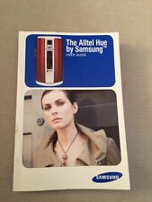 The Alltel Hue by Samsung User Guide Manual Instruction Book Cell Phone