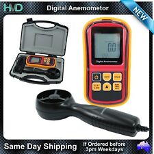 Digital Anemometer - Wind - Velocity - Temperature - Air Speed and much more
