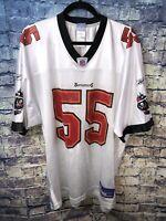 Reebok NFL On Field Tampa Bay Bucs #55 Brooks White Jersey Size XL🔥Free Ship