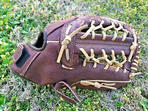Franklin RTP 22572 series tanned leather softball Baseball 12 glove R-H Wilson