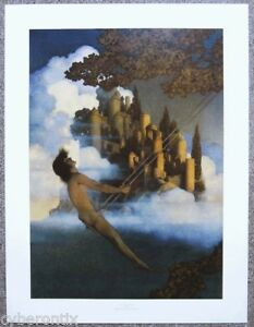 Maxfield Parrish DINKY BIRD Art Print Large Wall Poster 25x19 NEW BIG Reprint