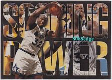"1994-95 FLAIR SCORING POWER: SHAQUILLE O'NEAL #5 ""SHAQ""-MAGIC/LAKERS SEASON MVP"