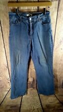 Levis 512 Perfectly Slimming Stretch Boot Cut Womens Denim Jeans Size 10 M 28L
