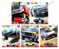 Hot Wheels Premium Car Culture 2020 Wild Terrain Set of 5 - 956Q - In Stock