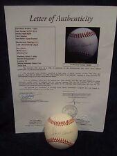 Hank Aaron Autographed Official National League (White) Baseball – Full JSA LOA