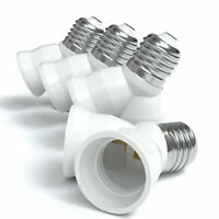 20x Lampensockel Adapter E14 auf GU10 Fassung Stecker Glühbirne Konverter Lampe