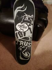 """Fortrus X Snowboard 33"""" inches long only used by small child twice"""