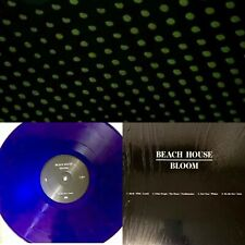 Beach House Bloom Glow In The Dark Cover. Purple Colored Vinyl Edition