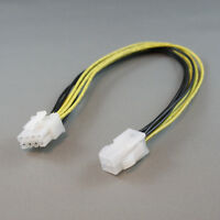 """12"""" Inch ATX 4-pin Female to 8-pin Male 12V Power Adapter Cable For Motherboard"""