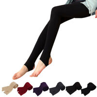 Winter Warm Women's Tights Pantyhose Socks Thermal Fleece Lined Stockings Pants