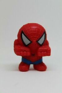 Figura de Goma SPIDERMAN promocion Nestle 2007 Marvel - 6cm altura.
