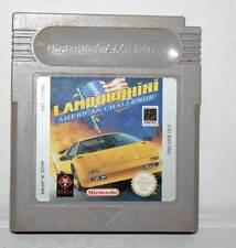LAMBORGHINI AMERICAN CHALLENGE USATO SOLO CARTUCCIA VERSIONE UK GAME BOY GS1