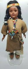 Vintage Indian Doll and baby Deerfoot and Brown Eagle Carlson Mfr #12-20