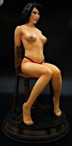 Black Widow Scarlett Johansson Resin Professionally AIRBRUSHED built not AURORA