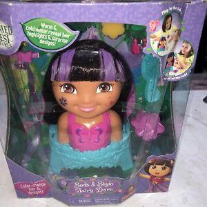 Dora The Explorer Enchanted Forest Suds & Style Fairy Dora