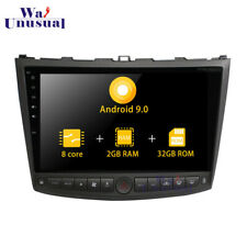 Octa Core Android 9.0 Car GPS Stereo For Lexus IS250 IS350 2005-2011 Radio Unit