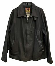 Kakadu Traders Mens Cotton Microwax Oilskin Jacket Style MJ921 Size Large
