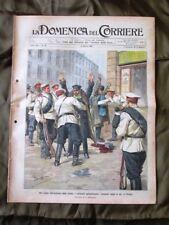 La Domenica del Corriere 10 Marzo 1907 Cosacchi Russia Pio X Parlamento tedesco