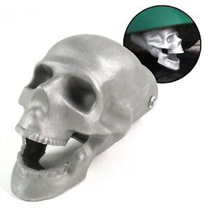 "Unpolished Skull Exhaust Tip - Original - 2.5"""