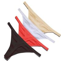 4 Pack Women Cotton Sexy G-Strings Thongs Knickers Panties Underwear Lingerie