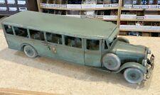 "Vintage Original 1920's Buddy L Transportation Company 29"" Coach Bus"