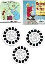 More details for viewmaster slides sword in the stone 3 slides