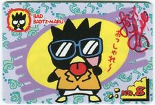 Lisle Wilkerson Bad Badtz Maru Signed Sanrio Hello Kitty Japanese Card Auto #8
