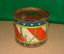 GOD BLESS AMERICA  TIN DRUM BANK---by J.CHEIN & CO.