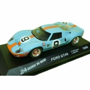 Ford GT40 Rodriguez 1968 24 Hours Le Mans 1:43 Ixo Altaya Diecast