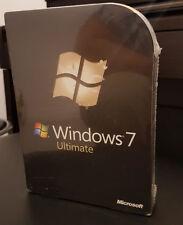 MICROSOFT WINDOWS 7 ULTIMATE - BRAND NEW & SEALED BOX - 100% GENUINE