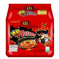 Samyang 2X Spicy Hot Chicken Flavor Ramen KOREAN SPICY NOODLE (5 Pack)