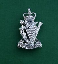 Anodised The Royal Ulster Rifles - 100% Genuine British Military Army Cap Badge