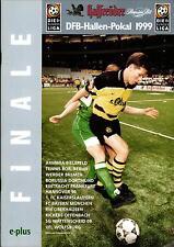 30./31.01.1999 DFB-Hallen-Pokal Finale Dortmund, Bayern München, TeBe Berlin,...