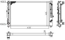 NRF Radiador refrigeración del motor Para VW PASSAT AUDI A4 SKODA 529504A