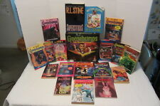 Goosebumps Board Game Ghosts Fear Street Fright Time R.L. Stine Book Bunnicula