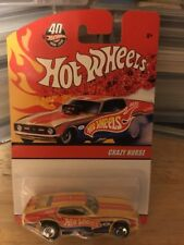Hot Wheels 40th Anniversary Crazy Horse Nitro Funny Car Real Riders
