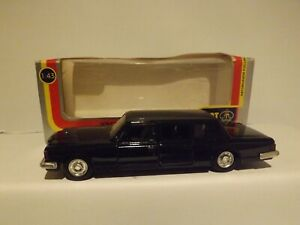 ARAT TOYS (RUSSIA) A BLACK LIMO IN VERY GOOD CONDITION..1:43 SCALE.