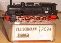 Fleischmann 7094 Spur N Dampflok BR 94 1730 der DB Epoche 3 gut erhalten,OVP -1-