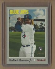 VLADIMIR GUERRERO JR 2019 Topps Heritage High Rookie Card Toronto Blue Jays RC