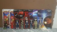 LOT OF 8 Funko + Super7 ReAction Figures. Predator scarface aliens
