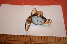 Elgin 14k Gold Pocket Watch Size 0, Serial #3536646 Circa 1888 13 Jewel