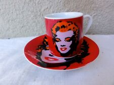 RARE KARE DESIGN - MARILYN MONROE CUP AND SAUCER