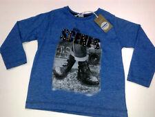 Langarm Jungen-T-Shirts, - Polos & -Hemden mit Rundhals-Ausschnitt aus Polyester